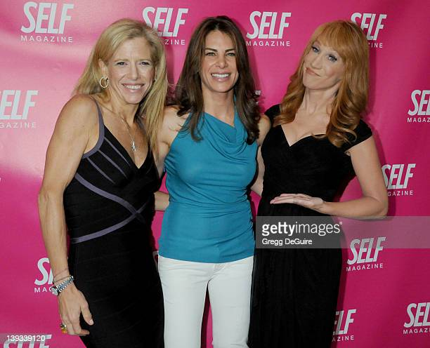 Lucy Danziger Jillian Michaels and Kathy Griffin arrive for Self Magazine's July 2009 LA Issue Party at the Sunset Towers Hotel in West Hollywood...
