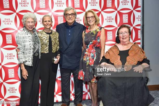 Lucy Danziger Nancy Druckman Jerry Lauren Barbara Gordon and Diane Siegmund attend the American Folk Art Museum Fall Benefit Gala 2018 at The...