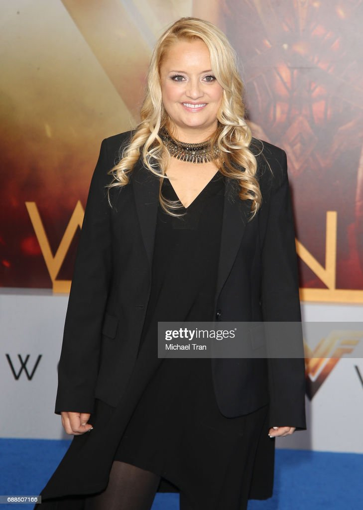 Lucy Davis arrives at the Los Angeles premiere of Warner Bros. Pictures' 'Wonder Woman' held at the Pantages Theatre on May 25, 2017 in Hollywood, California.