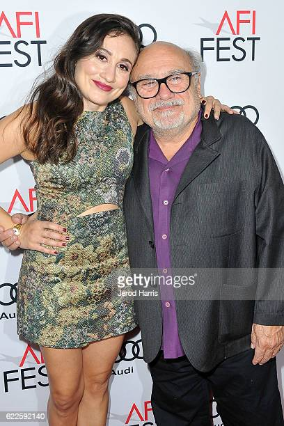 Lucy DeVito and Danny DeVito arrives at Premiere of Sony Pictures Classics' 'The Comedian' at the Egyptian Theatre on November 11, 2016 in Hollywood,...