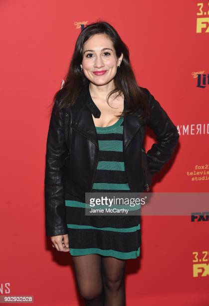 Lucy DeVito attends The Americans Season 6 Premiere at Alice Tully Hall Lincoln Center on March 16 2018 in New York City
