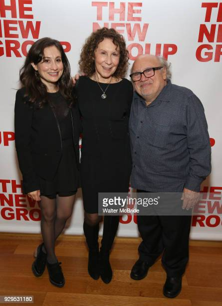 Lucy Devito Rhea Perlman and Danny Devito attend The New Group presents the New York Premiere Opening Night of David Rabe's for Good for Otto on...