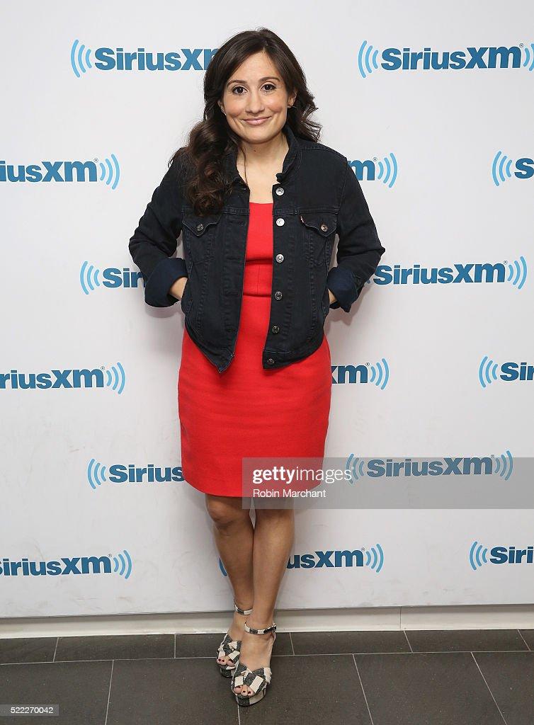 Celebrities Visit SiriusXM - April 18, 2016 : News Photo