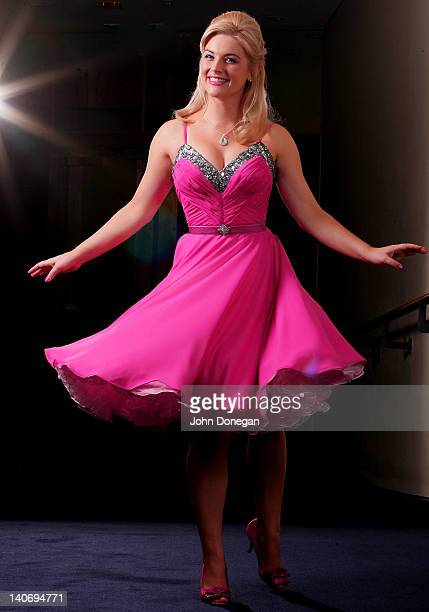 Lucy Durack poses during a Legally Blonde Portrait session on March 5 2012 in Sydney Australia
