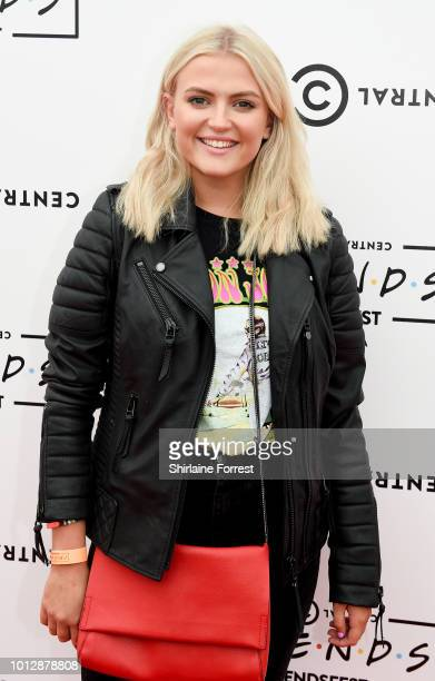 Lucy Fallon attends Comedy Central's FriendsFest at Heaton Park on August 7 2018 in Manchester England