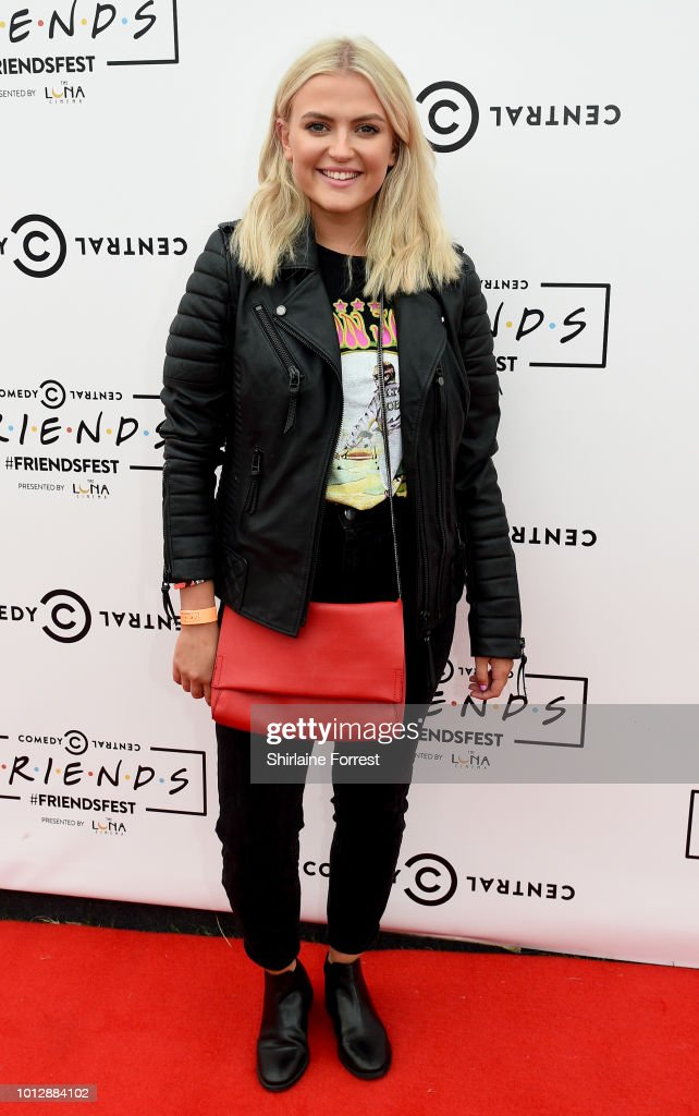 Lucy Fallon attends Comedy Central's FriendsFest at Heaton Park on August 7, 2018 in Manchester, England.