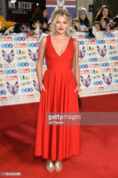 Lucy Fallon attends Pride Of Britain Awards 2019 at The Grosvenor House Hotel on October 28 2019 in London England