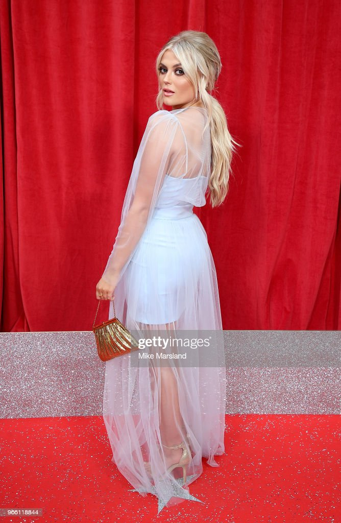 Lucy Fallon attends the British Soap Awards 2018 at Hackney Empire on June 2, 2018 in London, England.