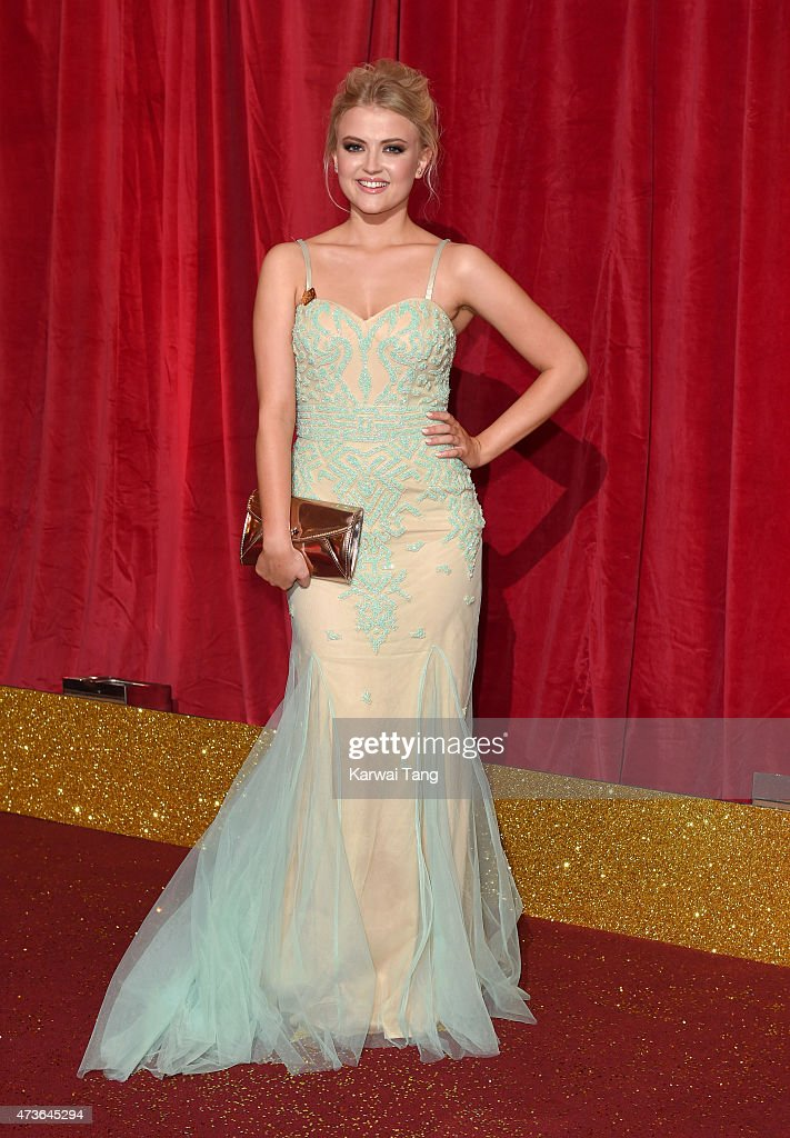 Lucy Fallon attends the British Soap Awards at Manchester Palace Theatre on May 16, 2015 in Manchester, England.