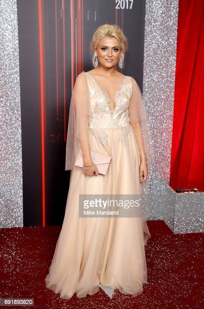 Lucy Fallon attends The British Soap Awards at The Lowry Theatre on June 3 2017 in Manchester England The Soap Awards will be aired on June 6 on ITV...