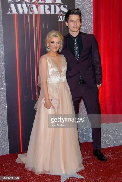 Lucy Fallon attends the British Soap Awards at The Lowry Theatre on June 3 2017 in Manchester England