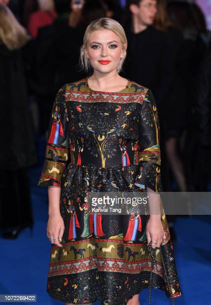 Lucy Fallon attends the European Premiere of Mary Poppins Returns at Royal Albert Hall on December 12 2018 in London England