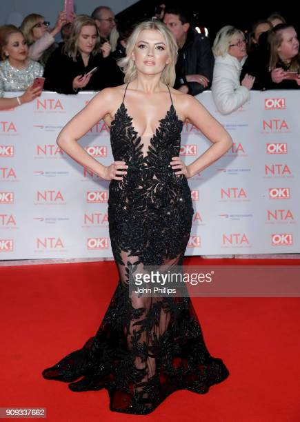 Lucy Fallon attends the National Television Awards 2018 at the O2 Arena on January 23 2018 in London England