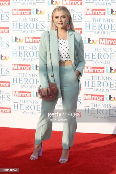 Lucy Fallon attends the 'NHS Heroes Awards' held at the Hilton Park Lane on May 14 2018 in London England