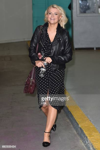 Lucy Fallon seen at the ITV Studios on June 5 2017 in London England