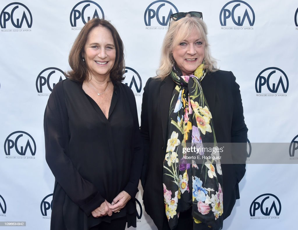 Lucy Fisher and Ceci Dempsey attend the 2019 PGA Nominees
