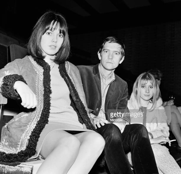Lucy Fleming Tom Courtenay and Helen Mirren attend an informal press conference for their play 'Charley's Aunt' at Manchester's Little University...