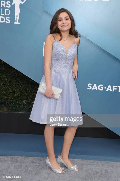 Lucy Gallina attends 26th Annual Screen Actors Guild Awards at The Shrine Auditorium on January 19 2020 in Los Angeles California