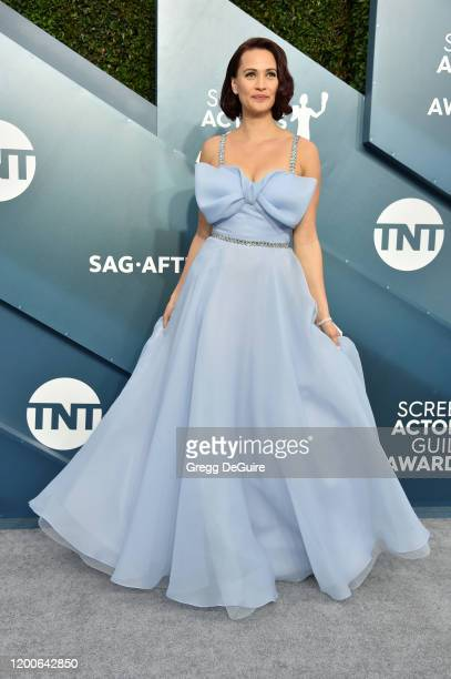 Lucy Gallina attends the 26th Annual Screen ActorsGuild Awards at The Shrine Auditorium on January 19 2020 in Los Angeles California 721430