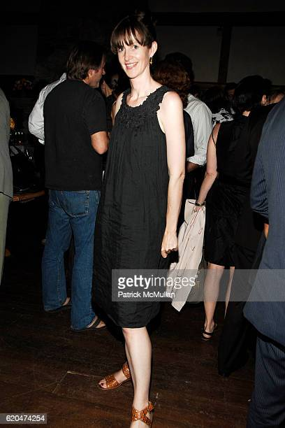 Lucy Gilmour attends WSJ Editorial Team Introduction Cocktail Party at AGO Restaurant @ The Greenwich Hotel on June 12 2008 in New York City