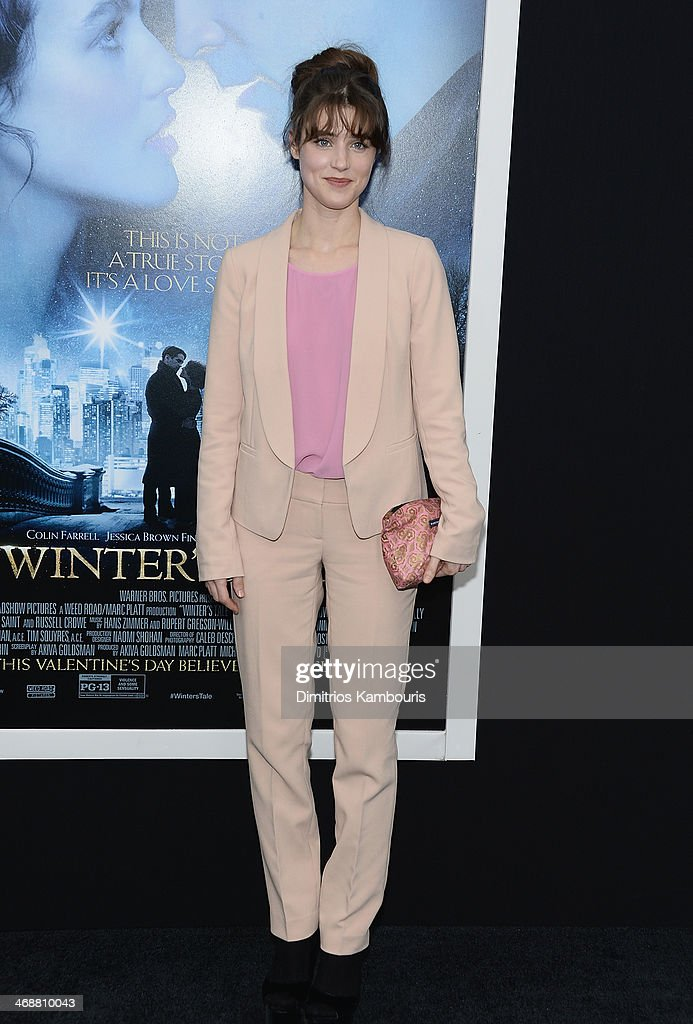 Lucy Griffiths attends the 'Winter's Tale' world premiere at Ziegfeld Theater on February 11, 2014 in New York City.