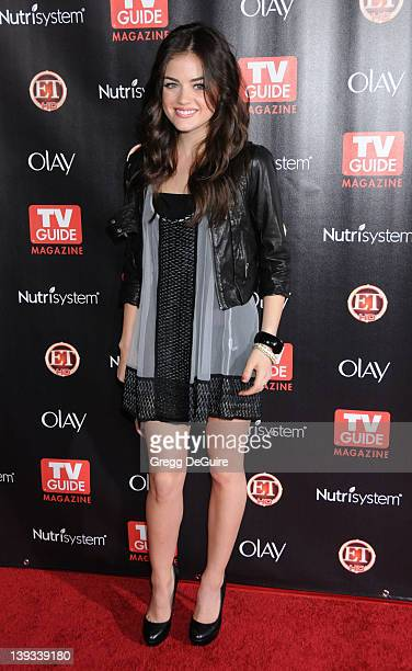 Lucy Hale arrives at TV Guide Magazine's 2010 Hot List Party at Drai's at the W Hollywood Hotel on November 8, 2010 in Hollywood, California.