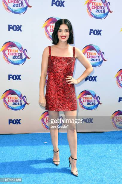 Lucy Hale attends FOX's Teen Choice Awards 2019 on August 11 2019 in Hermosa Beach California