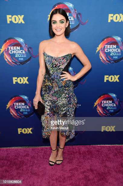 Lucy Hale attends FOX's Teen Choice Awards at The Forum on August 12 2018 in Inglewood California