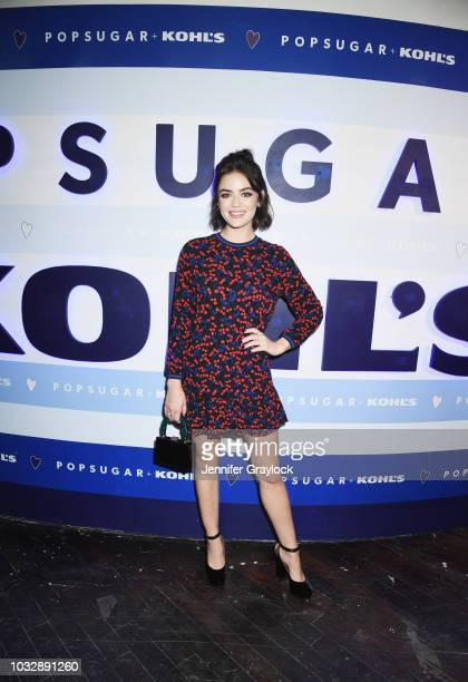 Lucy Hale attends POPSUGAR At Kohl's Collection launch event on September 12 2018 in New York City