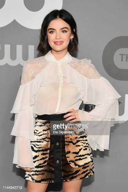 Lucy Hale attends the 2019 CW Network Upfront at New York City Center on May 16 2019 in New York City