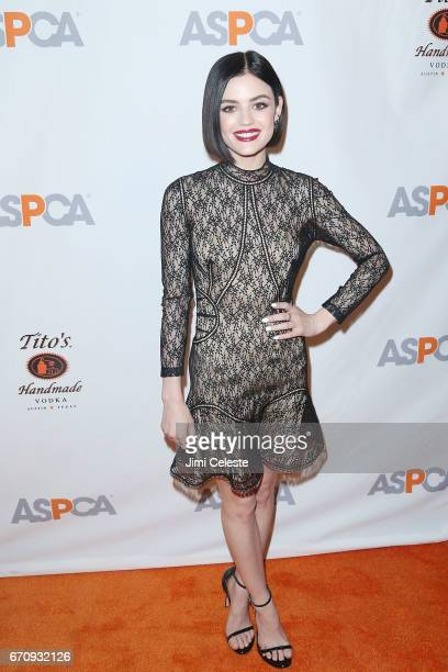 Lucy Hale attends the ASPCA 20th Annual Bergh Ball at The Plaza Hotel on April 20 2017 in New York City