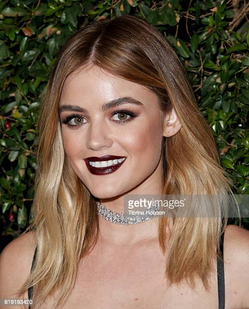 Lucy Hale attends the celebration for 'Pretty Little Liars' final season at Siren Studios on October 29 2016 in Hollywood California