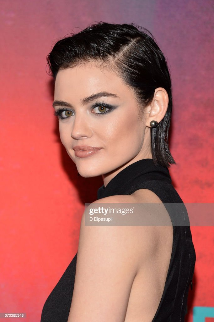 Lucy Hale attends the Freeform 2017 Upfront at Hudson Mercantile on April 19, 2017 in New York City.
