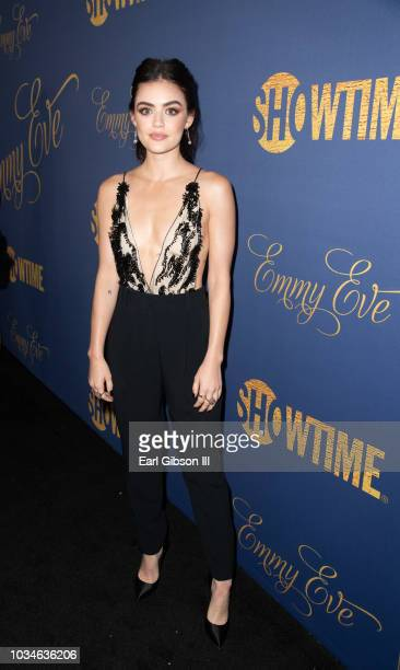 Lucy Hale attends the Showtime Emmy Eve Nominees Celebration at Chateau Marmont on September 16 2018 in Los Angeles California