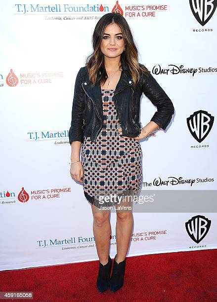 Lucy Hale attends the TJ Martell Foundation family day at CBS Studios on November 16 2014 in Studio City California