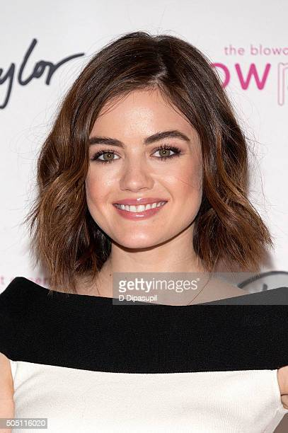 Lucy Hale hosts the Blowpro launch at Lord Taylor on January 15 2016 in New York City