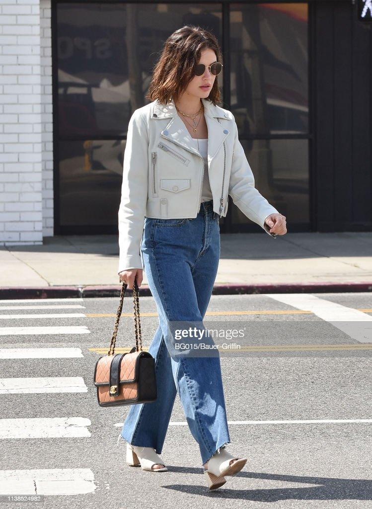CA: Celebrity Sightings In Los Angeles - April 21, 2019
