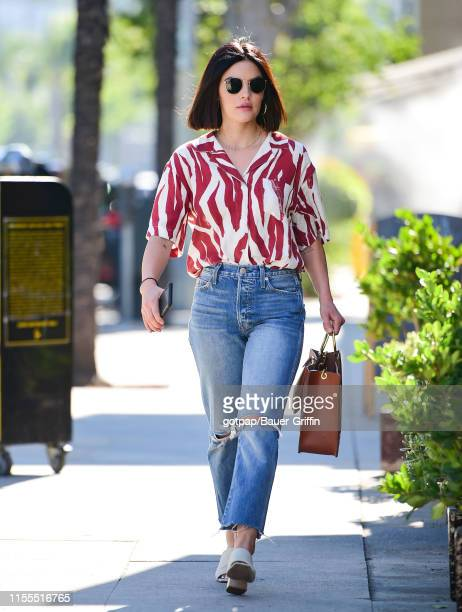 Lucy Hale is seen on July 13 2019 in Los Angeles California
