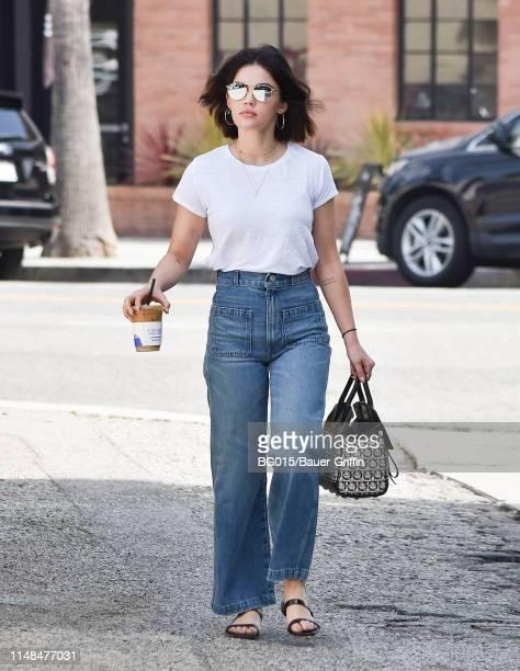 Lucy Hale is seen on June 07 2019 in Los Angeles California