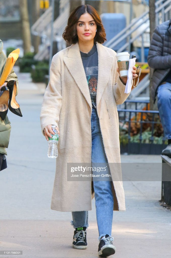 Celebrity Sightings In New York - March 20, 2019 : News Photo