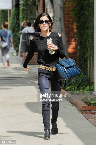 Lucy Hale is seen on May 09 2017 in Los Angeles California