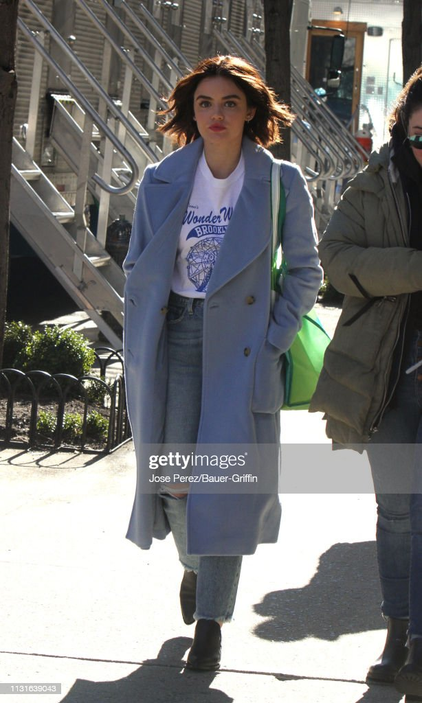 Celebrity Sightings In New York - March 19, 2019 : News Photo