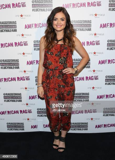 Lucy Hale joins American Rag for All Access Performance at Macy's on June 14 2014 in Sherman Oaks California