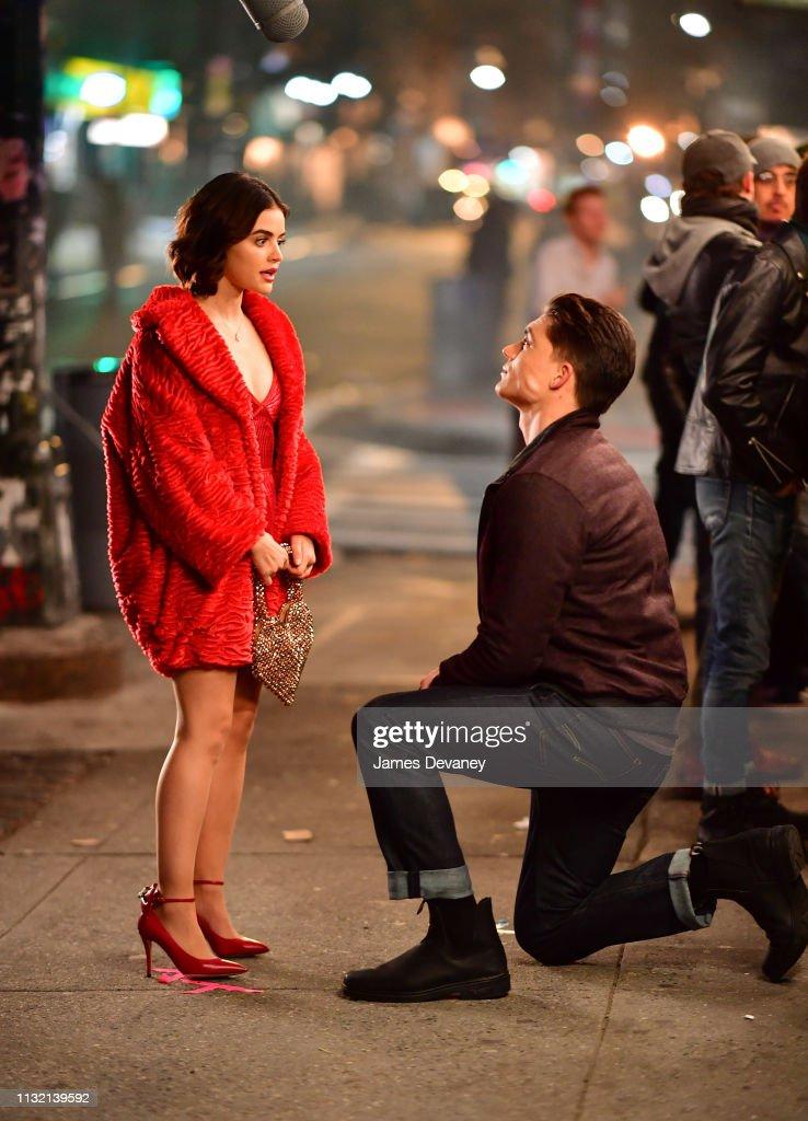 Celebrity Sightings in New York City - March 23, 2019 : Foto jornalística