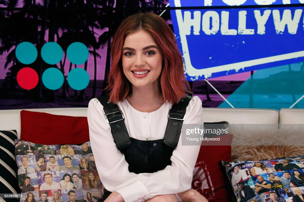 Lucy Hale visits the Young Hollywood Studio on April 11, 2017 in Los Angeles, California.