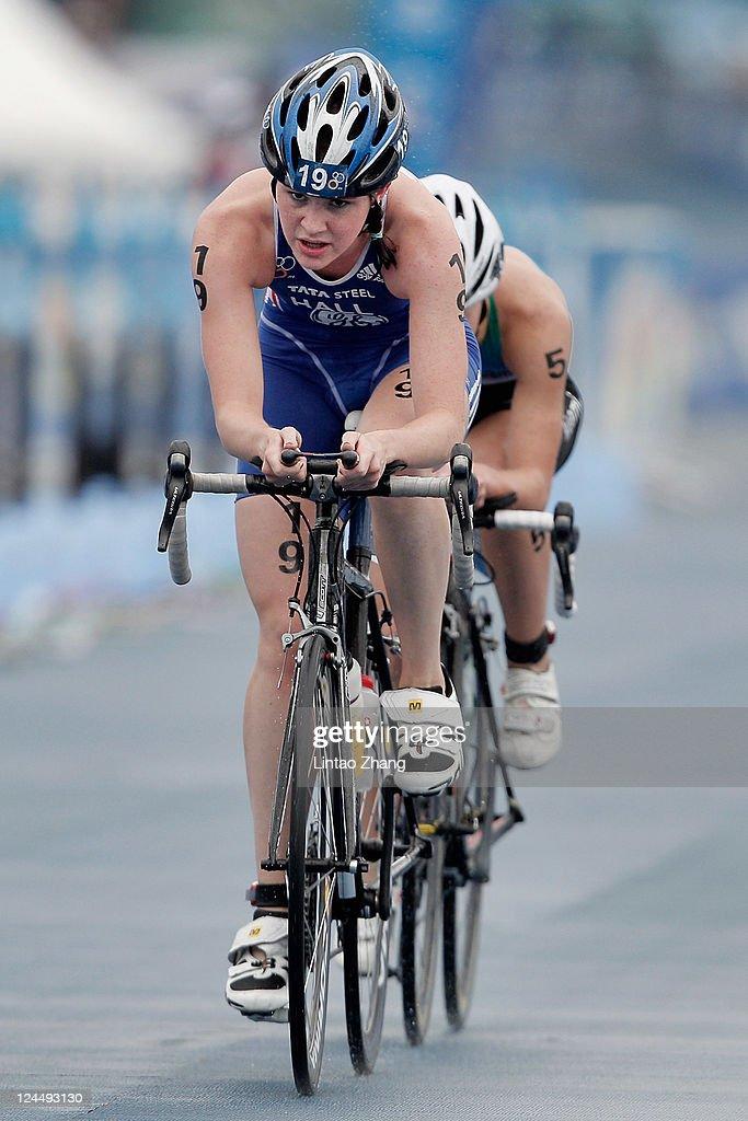 2011 ITU World Championship Grand Final - Elite Men & U23 Women : News Photo
