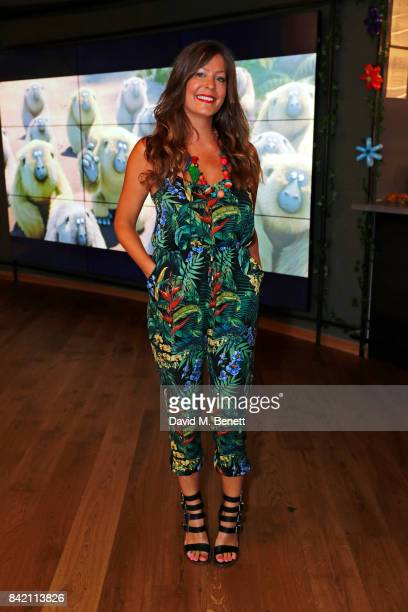 """Lucy Horobin attends the gala screening of """"The Jungle Bunch"""" at Vue Leicester Square on September 3, 2017 in London, England."""