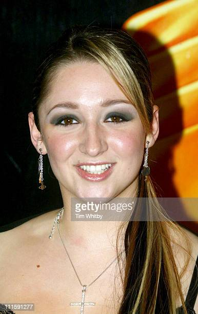 Lucy Jo Hudson during Royal Television Society Awards Arrivals at Grosvenor House in London Great Britain
