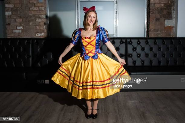 Lucy Jo Hudson during the press launch for Show White and the Seven Dwarfs pantomime at Arthouse Square on October 27 2017 in Liverpool England