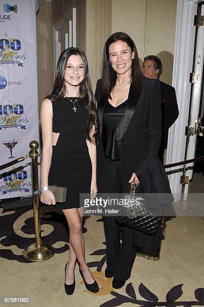 Lucy Julia RogersCiaffa and Actress Mimi Rogers attend the 20th Annual Night of 100 Stars Oscar Gala in the Crystal Ballroom at the Beverly Hills...